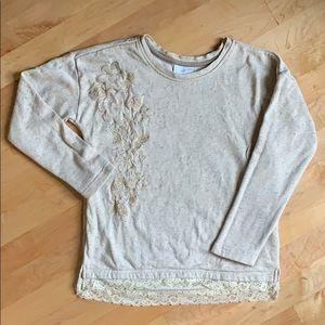 Hanna Andersson embroidered sweatshirt 130 cm